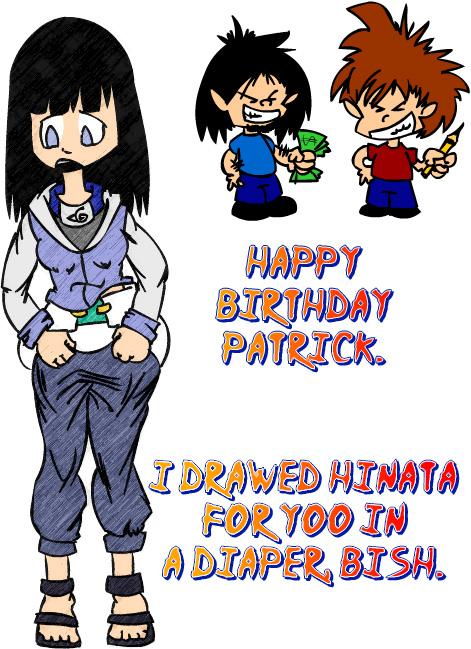 Naruto Diapers Hinata
